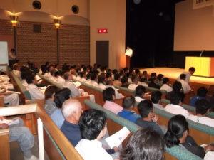 イーシーセンター 安全大会では多くのお客様にご来場いただきました