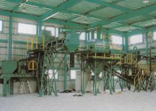 産業廃棄物破砕プラント